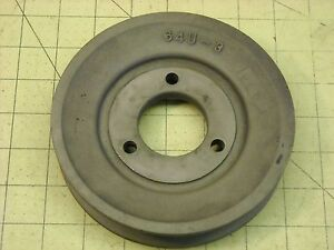Used Agco Gleaner F Combine Cast Iron Sheave V pulley 6 Inch Diameter