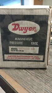 Dwyer Magnehelic Pressure Gage 163254 00 New Surplus In Box