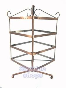 1x 192 Holes Square Earrings Display Stand Rack Holder