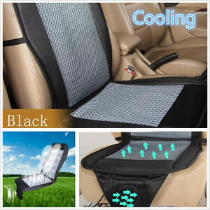 Cooling 12v Car Seat Cushion Cover Mat Air Ventilated Fan Conditioned Cooler Pad