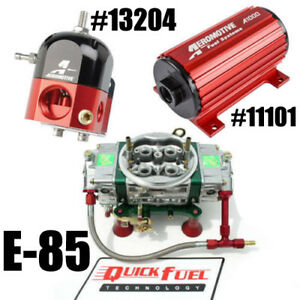 Quick Fuel Q 750 e85ban Blow Thru E 85 Fuel Reg Pump Carb Combo Free E 85 Tube