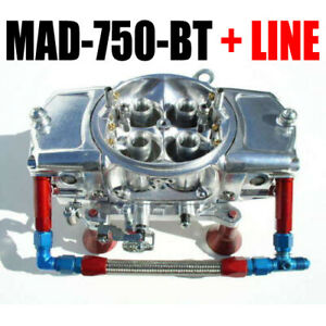Mighty Demon Mad 750 bt Mechanical 750 Annular Blow Thru Turbo Red Blue Line Kit