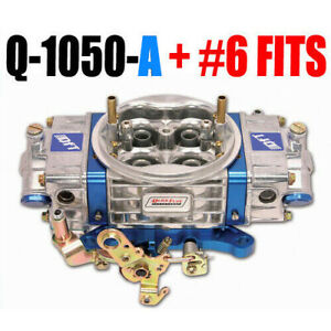 Quick Fuel Q 1050 A Mech Alcohol 4150 Drag Race With 6 Fuel Fittings