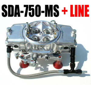 Screamin Demon 750 Cfm Carburetor Mech Secondaries Down Leg Sda 750 Ms Line Kit