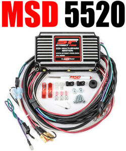 Msd 5520 Ignition Box Msd Street Fire Digital Cd With Rev Limiter Free Usa Ship