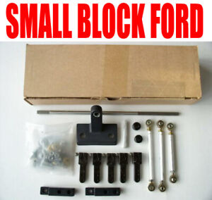 Small Block Ford Enderle 75 107 Tunnel Ram Linkage Sideways Mounting