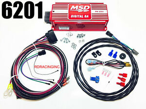Msd Ignition 6201 Digital 6a Ignition Control Box New