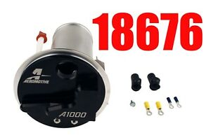 Aeromotive 18676 Ford Mustang S197 2005 2009 A1000 Stealth Fuel Pump Look