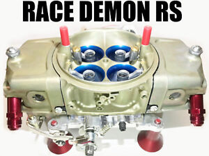Race Demon 3423010bc Rs Supercharger Blower 825 Cfm Gas Barry Grant Carb Hat