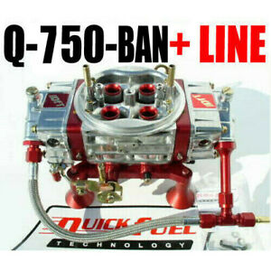 Quick Fuel Q 750 ban Annular Mech Blow Thru 6 Line Kit All New Free Line Kit