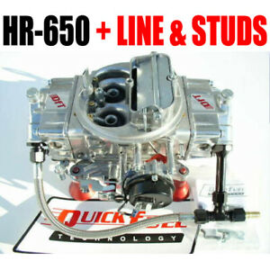 Quick Fuel Hr 650 Technology Hot Rod 650 Cfm Mech With Free Carb Studs To Look