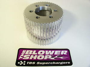 Blower Shop 8056 Cnc 56 Tooth 8mm Supercharger Drive Pulley