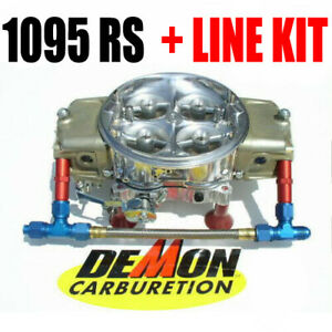 King Demon 9728020bc Drag Race 1095 Rs Gas Supercharger Annular Barry Grant