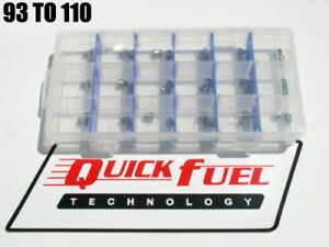 Quick Fuel Holley Gas Jet Kit 93 110 2 Each In Case New Free Usa Shipping