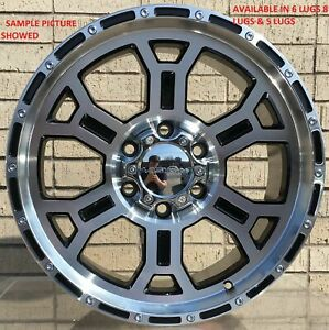 4 New 17 Wheels Rims For Chevrolet Suburban 1500 Tahoe Chevy 614