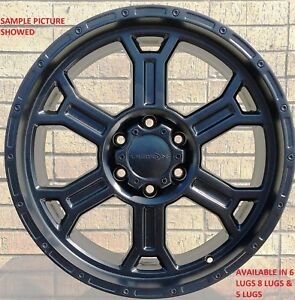 4 New 18 Wheels Rims For Chevrolet Suburban 1500 Tahoe Chevy 619
