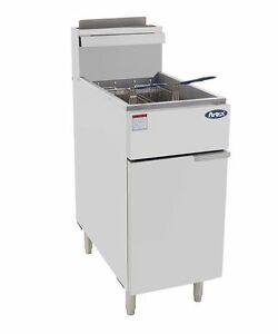 Atosa 40 Lb Stainless Steel Commercial Deep Fryer Atfs 40