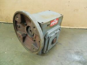 Dayton 4z015b 60 1 Ratio C face Right Angle Speed Reducer Gearbox 1hp 29rpm