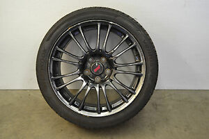Subaru Impreza Wrx Sti Limited Forged Wheel 9 Split Spoke Rim Oem 2008 2014