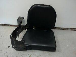 03 Ford Ranger 2003 Seat Rear Black Leather Oem Left Hand Driver Side