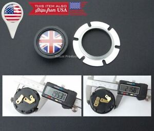Union Jack Uk Flag Horn Button Momo Sparco Grant Quanties Steering Wheel
