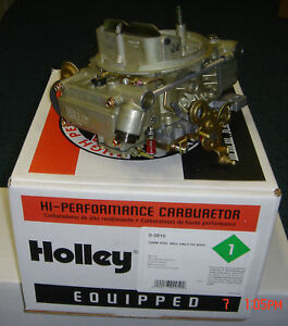 Holley Carb chev Corvette 327 1967 new
