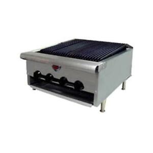 Wells Hdcb 2430g 24 Gas Charbroiler Grill