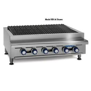 Imperial Irb 72 72 In Radiant Gas Charbroiler Grill