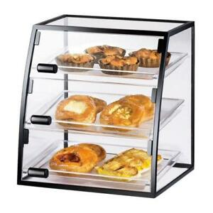Cal mil 1708 1318 3 tier Display Case Bakery Donut Pastry