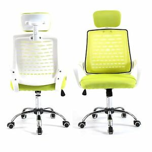 Home Drafting Computer Office Desk Commercial Task Chair Armrest Chair Grn wh
