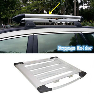 Outside Aluminum Cargo Roof Carrier Baggage Rack For Ford Explorer 2013 2016 S
