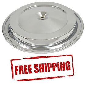 68 69 Camaro Chrome Air Cleaner Lid Air Cleaner Top With O ring Rubber New