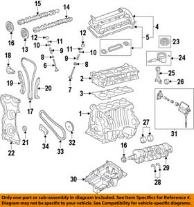 Ford Oem engine Timing Cover 9e5z6019b