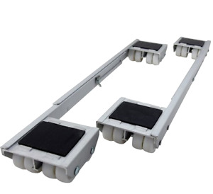 Adjustable Aluminum Appliance Rollers Heavy Furniture Moving Transport Dolly