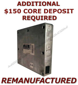 Reman 2001 2002 2003 Toyota Rav4 2wd Engine Computer Ecm Ecu Pcm Exchange