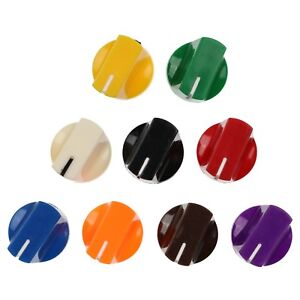 10 Colours Duckbill Knobs For Keyed Potentiometer Rotary Switch Encoder 1 4