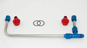 Aed 60945 Holley Carburetor Stainless Fuel Line Kit 650 750 Double Pumper