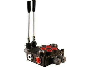 2 Spool Hydraulic Directional Control Valve 32gpm Double Acting Cylinder Spool