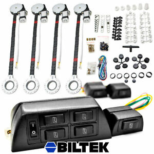 New Universal 4 Door Power Window Conversion Kit For All Makes Car Truck Suv
