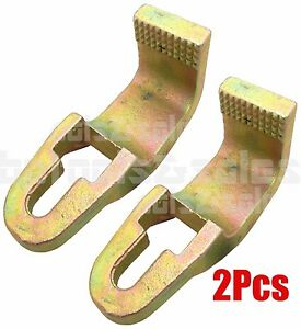 2 3 Ton Sill Hook Straight Cut Tooth 2 1 2 Pull Round Hook Clamp Grip Power