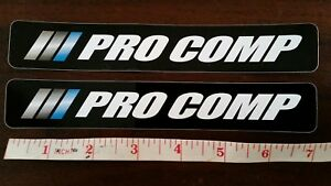 2 Pro Comp Stickers Off Road Racing Rims Jk Ford Dodge Toyota Chevy Nhra