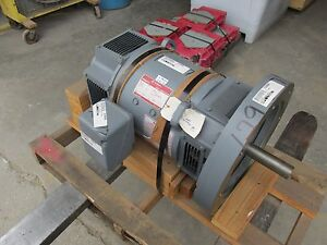 New Ge 10hp Kinamatic Direct Current Dc Motor 1750 Rpm 120vdc 5cd163wd841a800