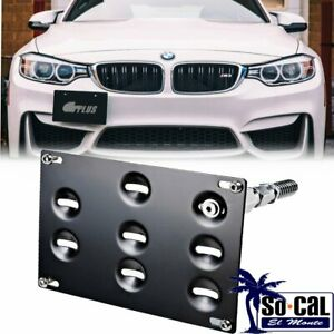 Front Bumper Tow Hook License Plate Bracket For Bmw 328i 335i 435i F30 F10 X Z M