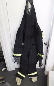 Lion Gore Chempak Chemical Suit Multithreat Gear Xl Emergency Fire Fighter
