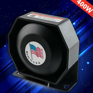 Universal 400w G1 Compact Loud Speaker Pa System Horn Emergency Warning Sire