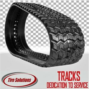 Bobcat T250 Rubber Tracks 450x86x55 Camso Ctl Sd Sawtooth Pattern