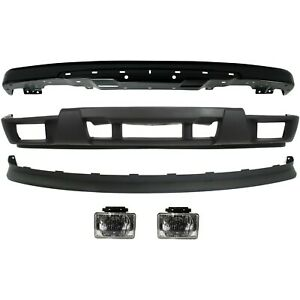 Bumper Cover Kit For 2004 2012 Chevy Colorado 5pc