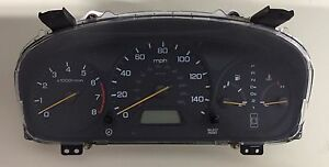 2000 2001 2002 Honda Accord Ex Lx Speedometer Gauge Cluster 3 0l V6 At Sedan