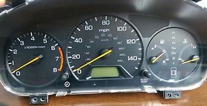 1998 1999 Honda Accord Ex Lx Speedometer Gauge Cluster Sedan 2 3l 4cyl At No Abs