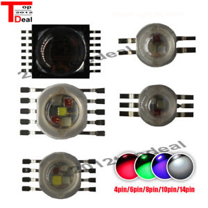 Rgbw rgb w y uv 6w 9w 12w 15w 21w Led Lamp Emitter Diodes For Stage Ligh
